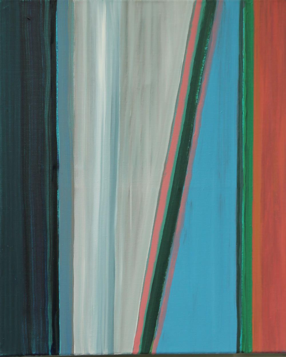 2015-U 50x60 cm, olieverf op doek