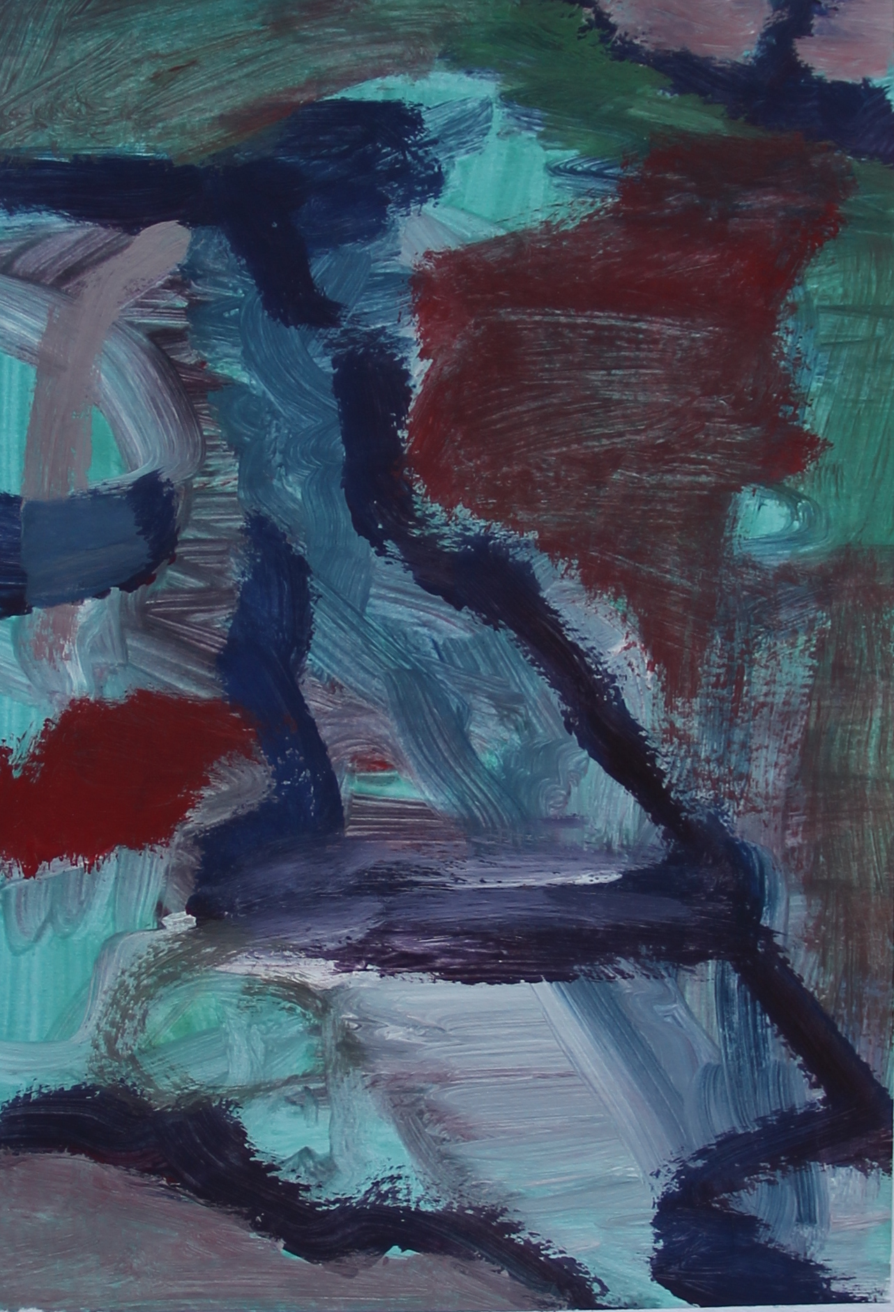 P 2015-B 17,5x26 cm, gouache op papier