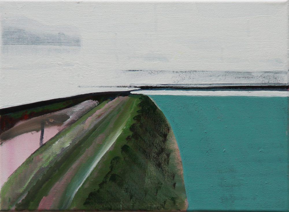 2017-Q 40x30 cm, acryl op doek