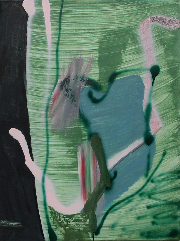 2018-D 60x80 cm, acryl en spuitbus op doek