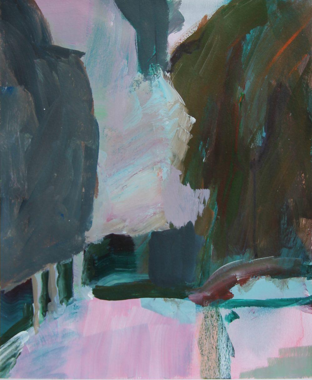 P 2020-C 26x32,5 cm, acryl en potlood op papier